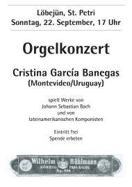 Orgelkonzert Löbejün