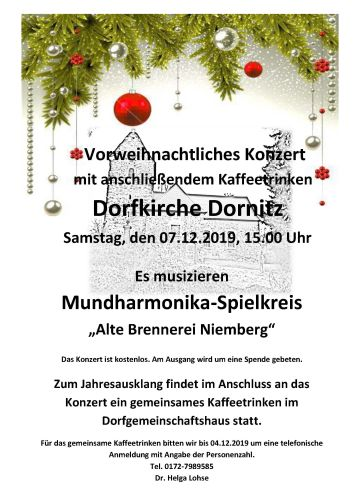 Konzert Dornitz