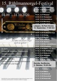2020 Rühlmannorgelfestival
