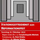 Stations-Gottesdienst Reformationssonntag