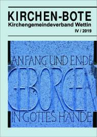 Deckblatt Kirchen-Bote 2019-4