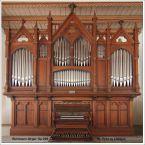 Postkarte Orgel Löbejün1